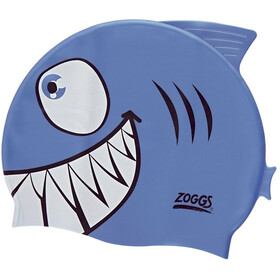 Zoggs Character Silicone Cap Kids shark